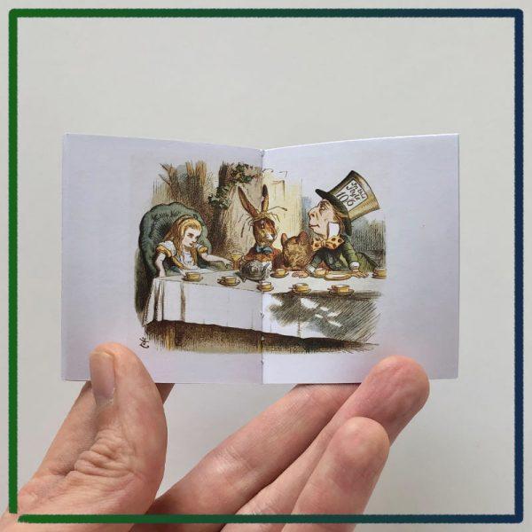 John Tenniel's Alice's Adventures in Wonderland - 2021 miniature book by Nicolas Codron
