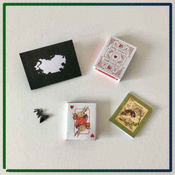 John Tenniel's Alice's Adventures in Wonderland - 2021 miniature book by Nicolas Codron - complete set