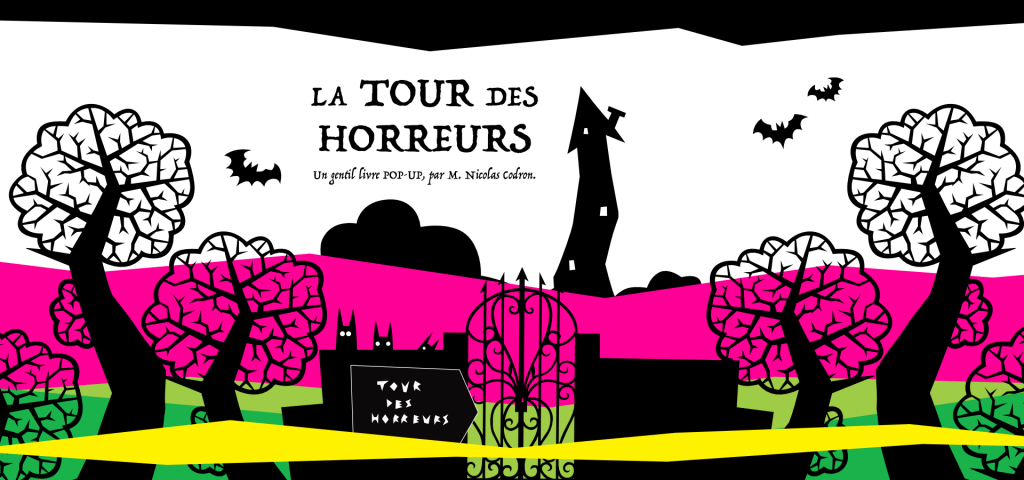 Nicolas Codron - La Tour des Horreurs Halloween Pop-up Book 2021